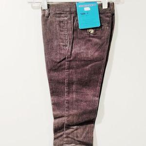 NWT Canadian Sport Pants Gray Long Chino Corduroy